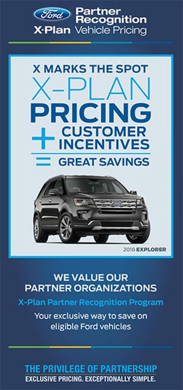 Ford X Plan Pricing >> Employee Partner Program